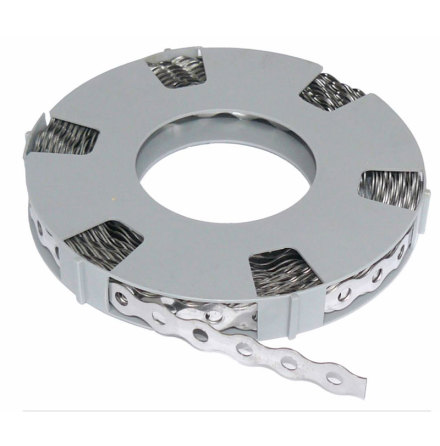 Stainless steel hole band