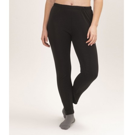 EMF Protective Womens Long Johns Black